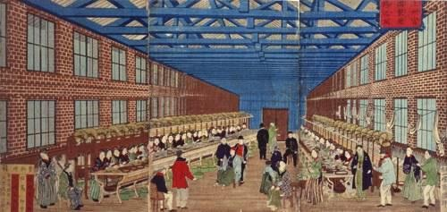 絵画富岡製糸場