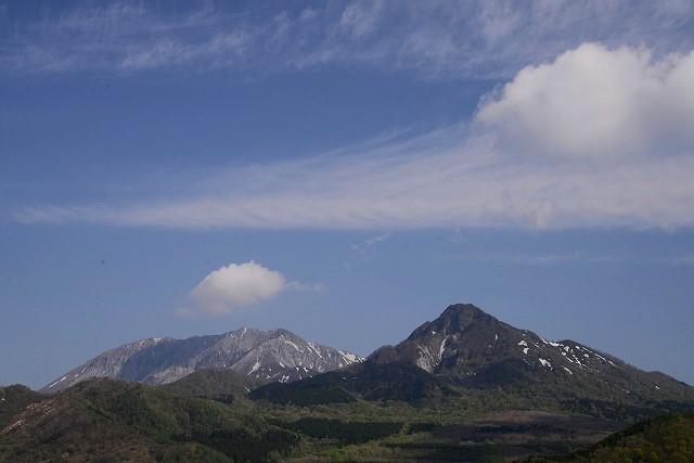 鬼女台から見る大山・烏ヶ山6