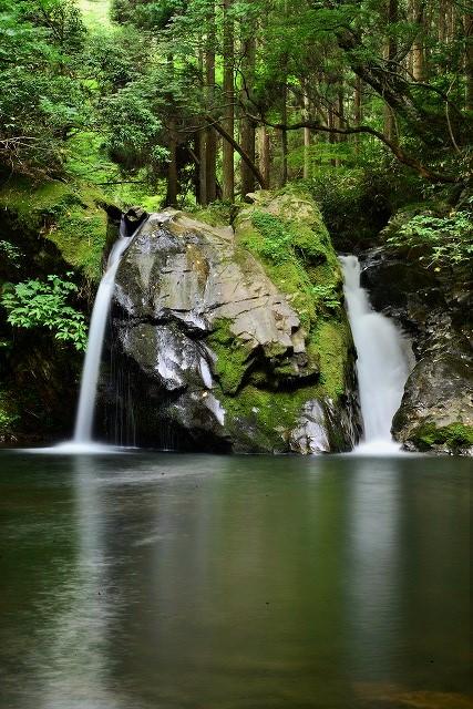 新庄不動滝(女滝)メンダキ1