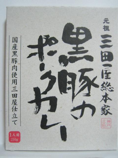 元祖三田屋総本家 黒豚のポークカレー