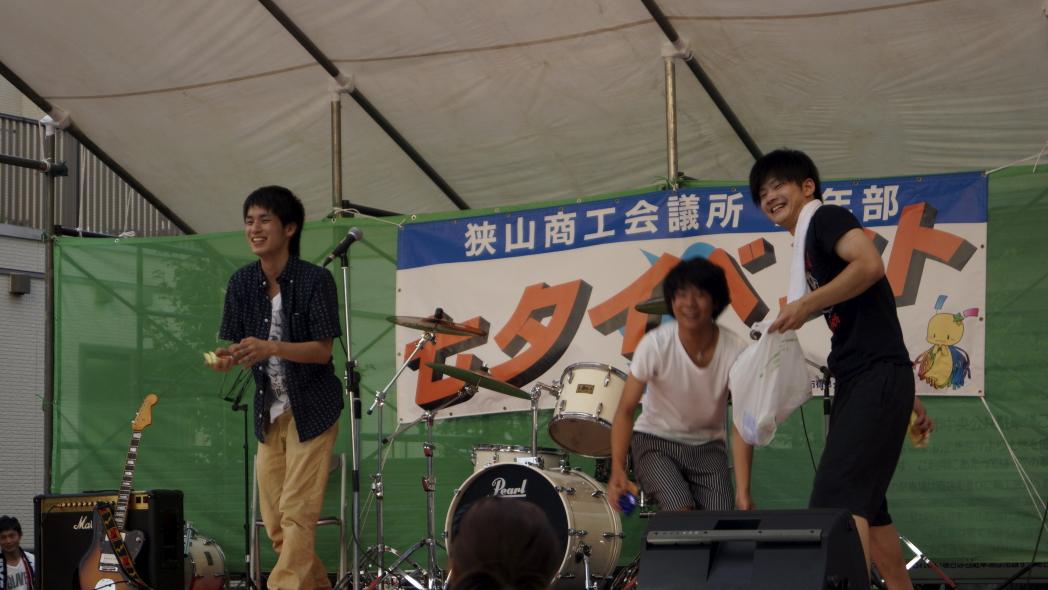 入間川七夕祭り MYUTANT 20140802