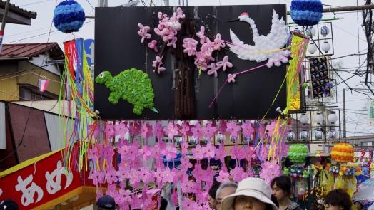 入間川七夕祭り 作品 4 20140802