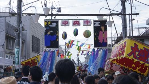 入間川七夕祭り 作品 学 4 20140802