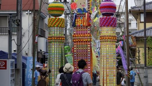 入間川七夕祭り 作品 7 20140802