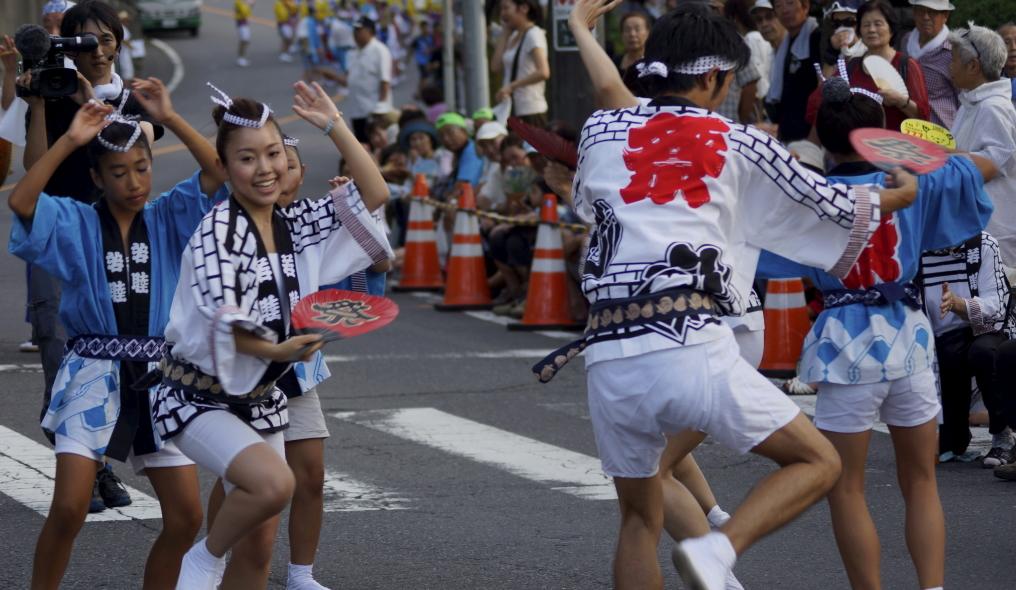 入間川七夕祭り 阿波踊り 若睦 20140802