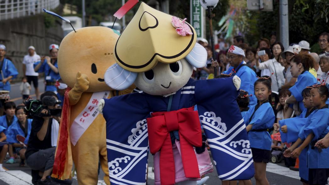 入間川七夕祭り おりぴい&トクシー20140802