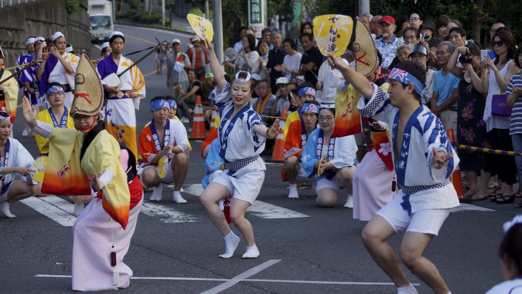 入間川七夕祭り 阿波踊り 電波連 2 20140803