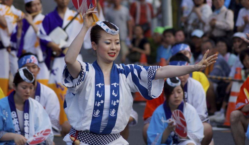 入間川七夕祭り 阿波踊り 電波連 6 20140803