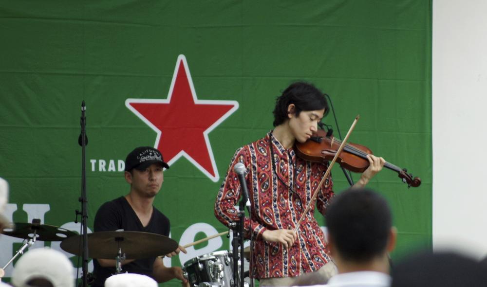 バイオリン奏者 2 隅田 JAZZ 20140816