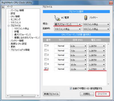 RMClockプロファイル01