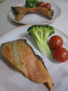 20140216 鮭の西京漬け