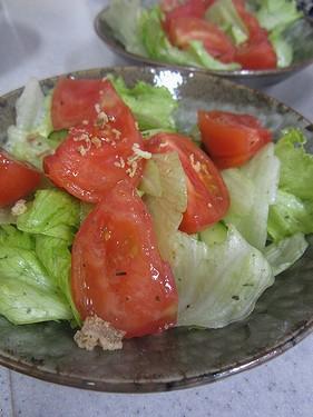 20140421 トマトサラダ