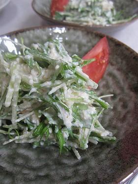 20140423水菜白和え