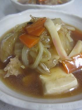 20140512 豆腐戸白菜のうま煮