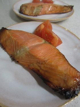 20140512鮭の西京焼き