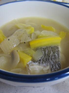 20140614 白身魚のラグー(スズキ)