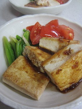 20140619豆腐ステーキ