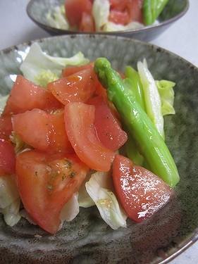 20140724 トマトサラダ