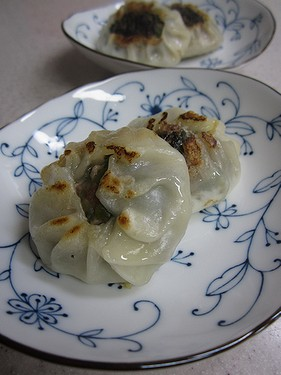 20140818ニラ饅頭