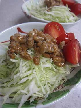 20140905納豆サラダ