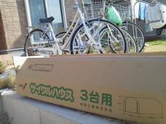 自転車小屋 001