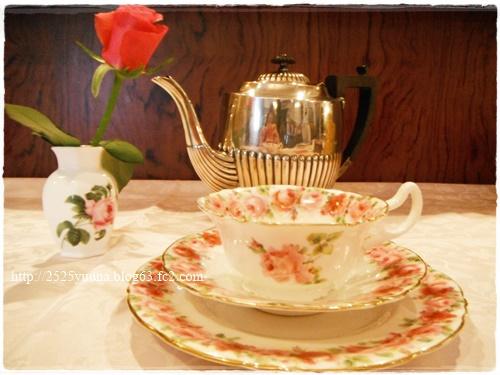 F20140419イギリス時間、紅茶時間01