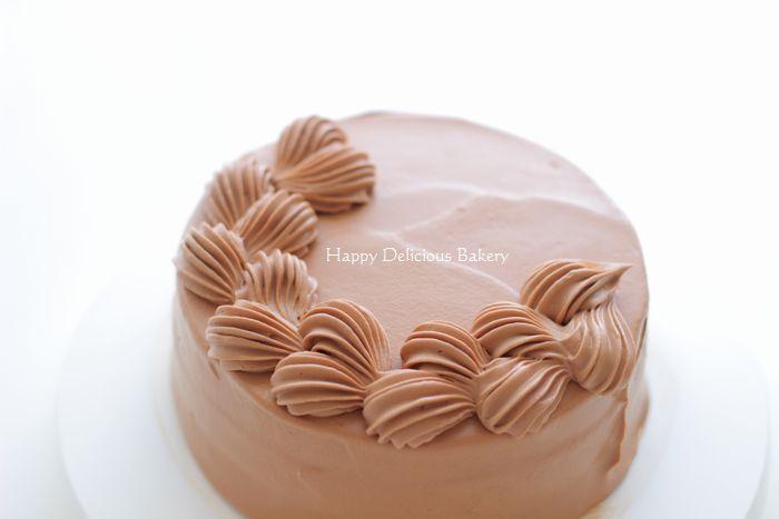 306チョコケーキ絞り1
