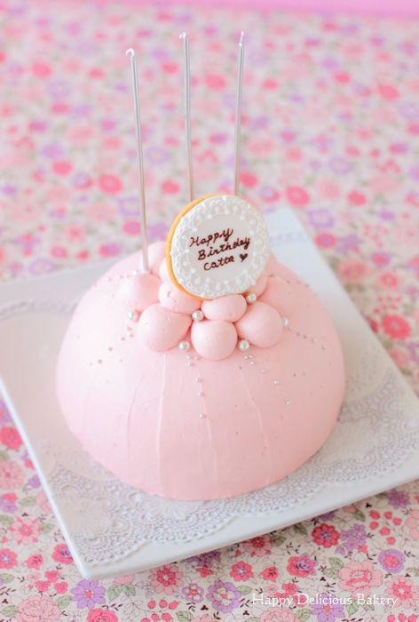 406バースデードームケーキ