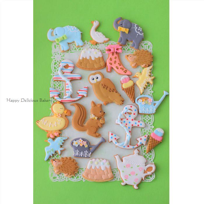 710動物クッキー