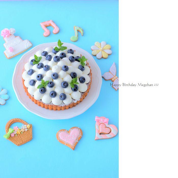 714めぐちゃんケーキ