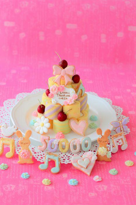 801 50000ケーキ