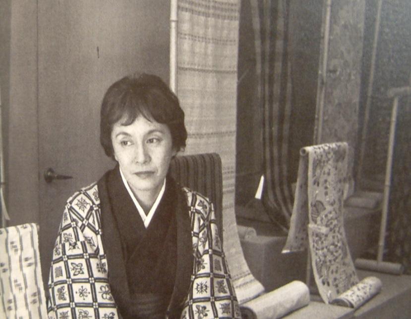 ⑥白洲正子さん_世界文化社「衣匠美」p.136