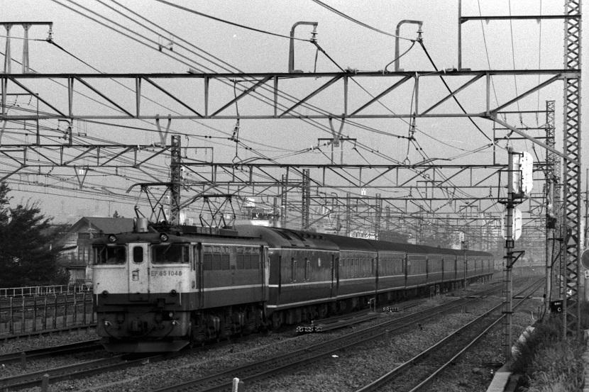 昔は東北線の列車だった「あけぼの」
