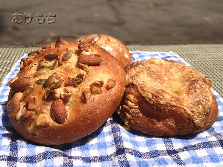 木の実パン、他