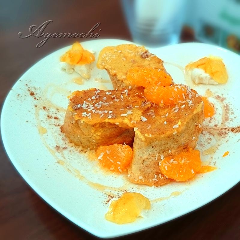 フレンチトースト(マーマレード&クリームチーズ)