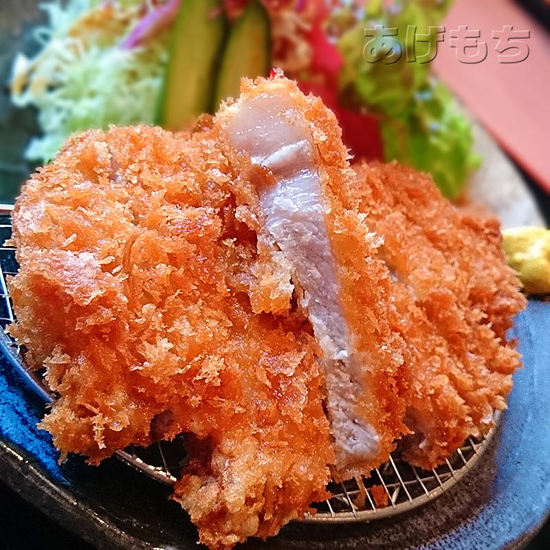 豚ロースカツ定食