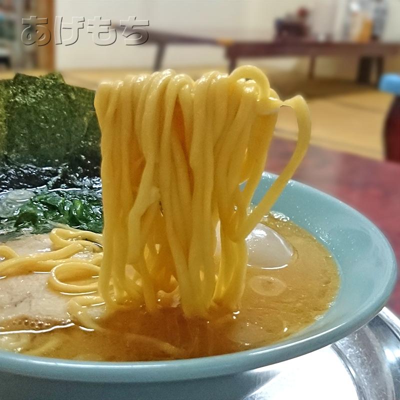 太麺です。