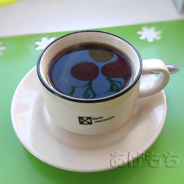 セットのコーヒー