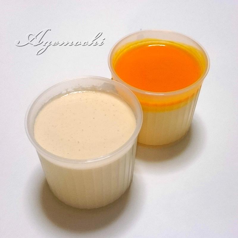 マンゴーレアチーズと白いコーヒー