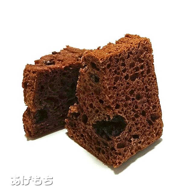 クーベルチュールチョコのシフォンケーキ