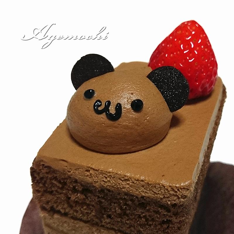 クマのショートケーキ