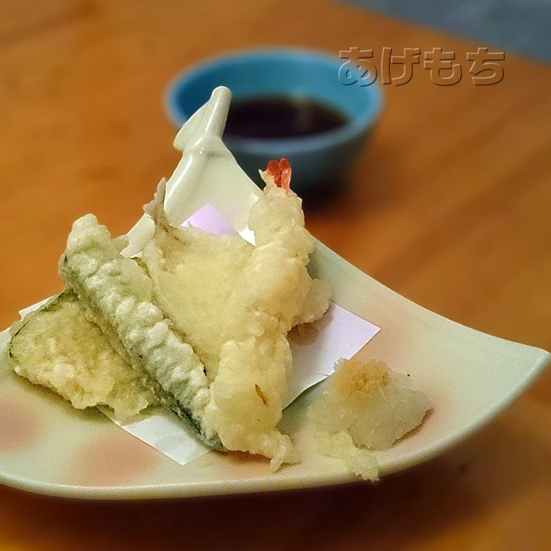 夏オクラの海鮮サラダちらし膳