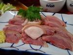 那覇市大道 まるまん 山羊刺身(2014/2/8)
