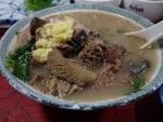 那覇市大道 まるまん 山羊汁(2014/2/8)
