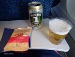 2014/4/10ドリンクサービス SB801便(成田-ヌメア)にて