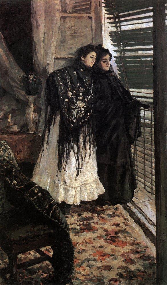 コンスタンチン・コロヴィン『スペイン女たち』