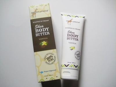 Out of Africa Body Butter