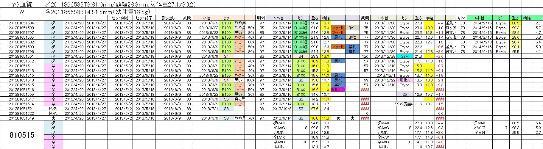 2013810515 4本目
