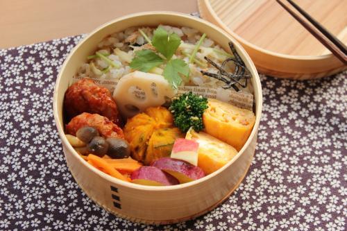 たくあん&ツナの混ぜご飯4