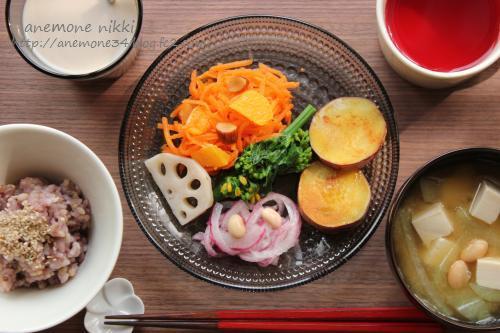 人参とオレンジのサラダ1